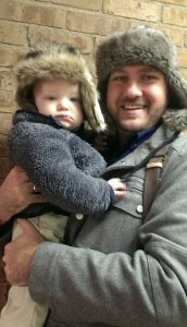 Mac and Daddy at Church.jpg